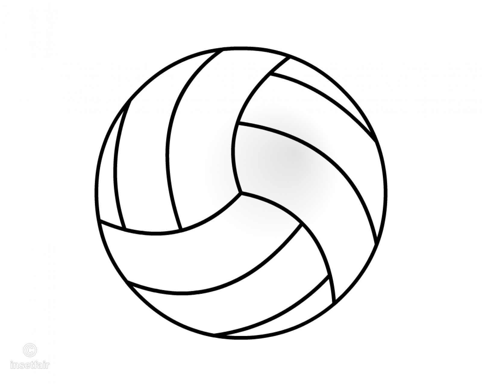Library Of Volleyball Vector Royalty Free Library