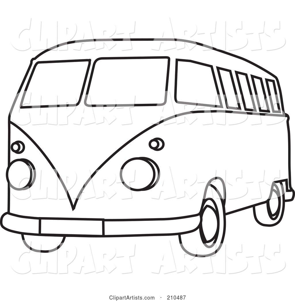 Black Vw Bus