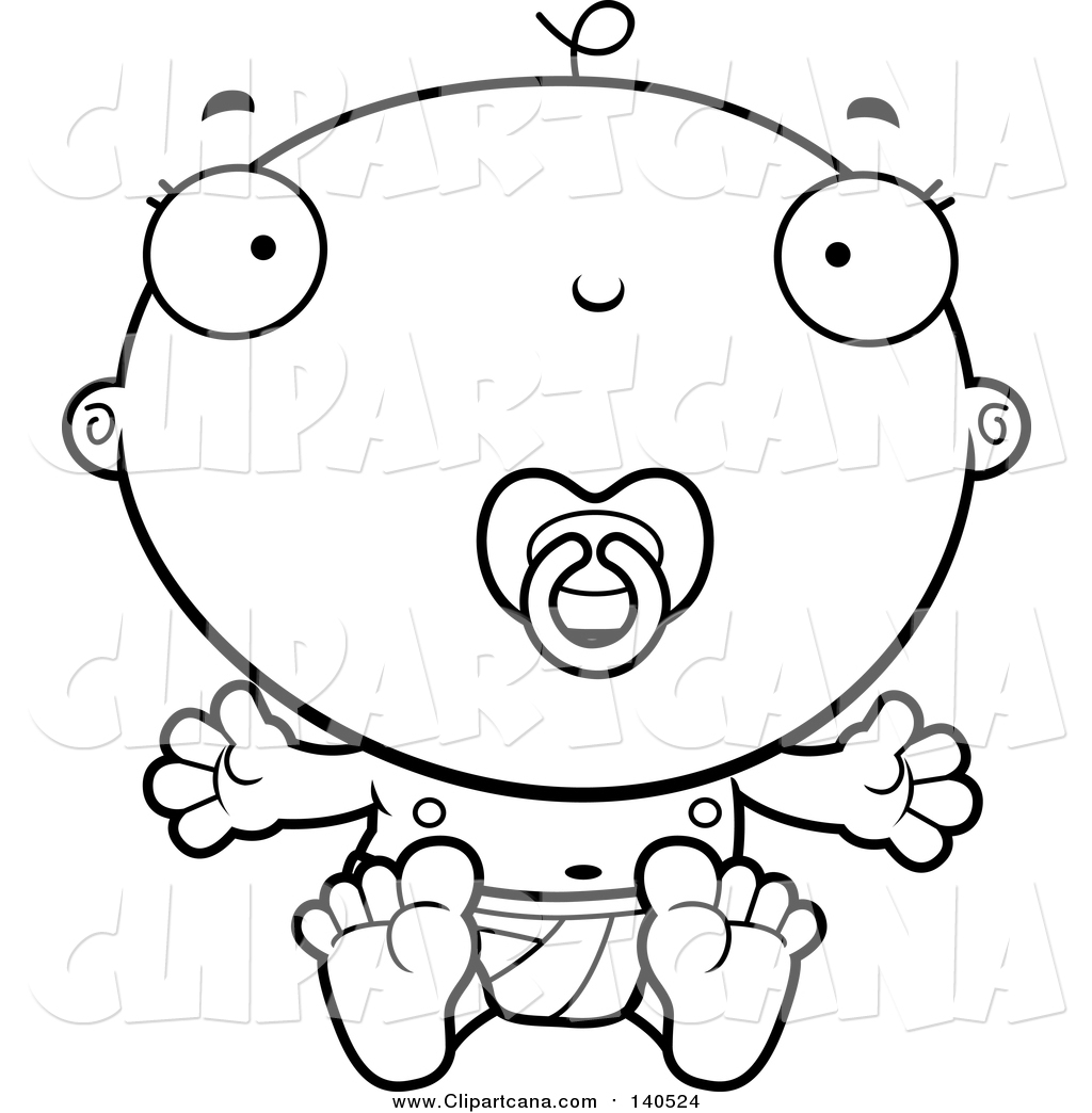 Pacifier Coloring Pages Coloring Pages