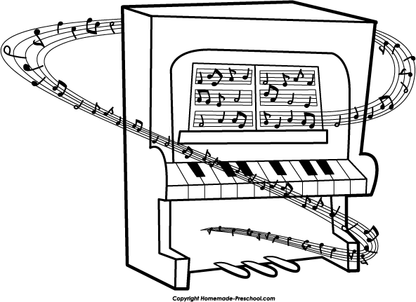 Upright Piano Clipart Free Clipart Images Clipartix
