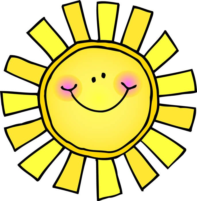 Image result for sunshine clipart