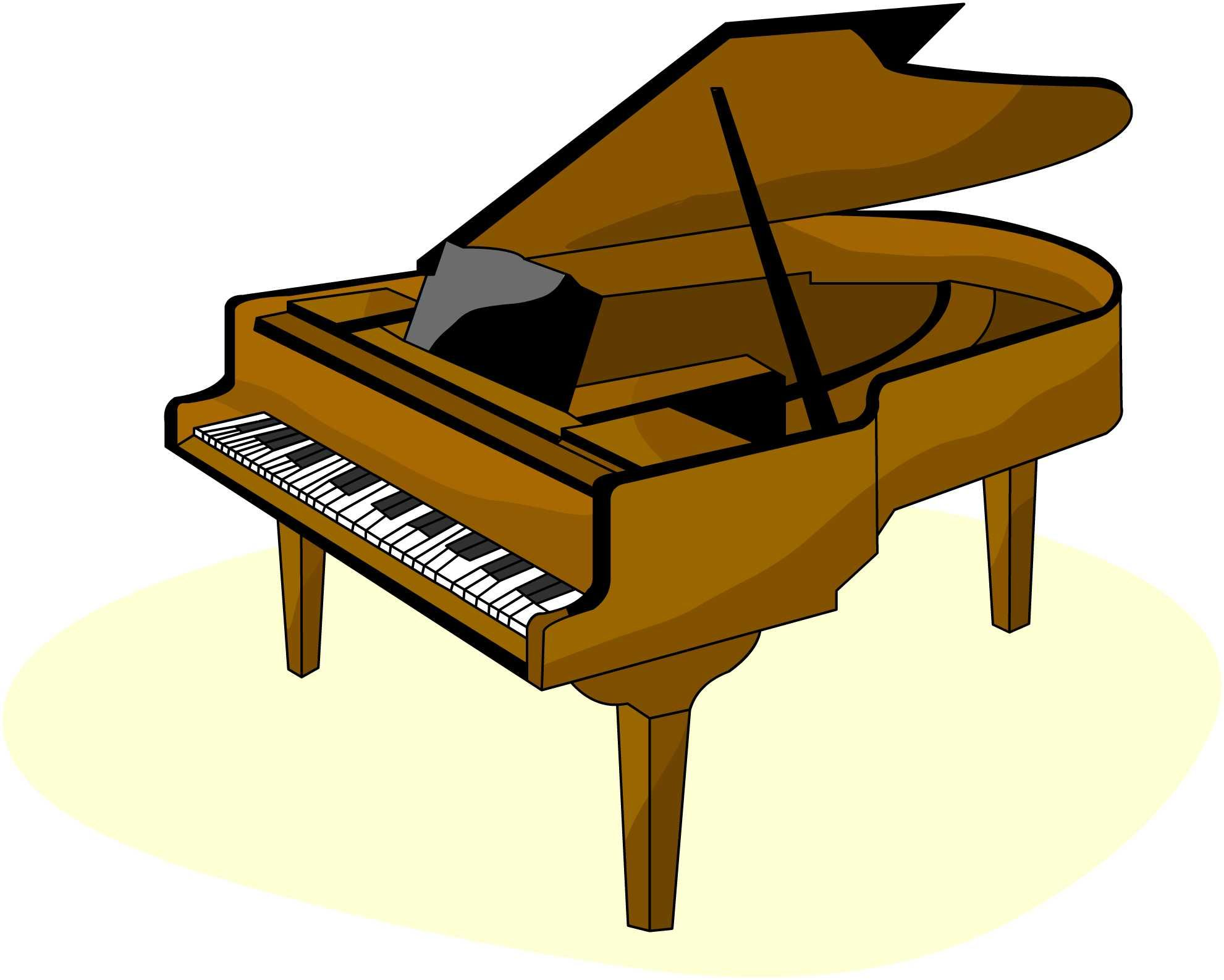 Upright Piano Clipart Free Clipart Images