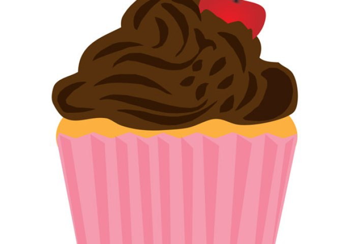 Happy Birthday Cupcake Clipart Free Clipart Images Clipartingcom