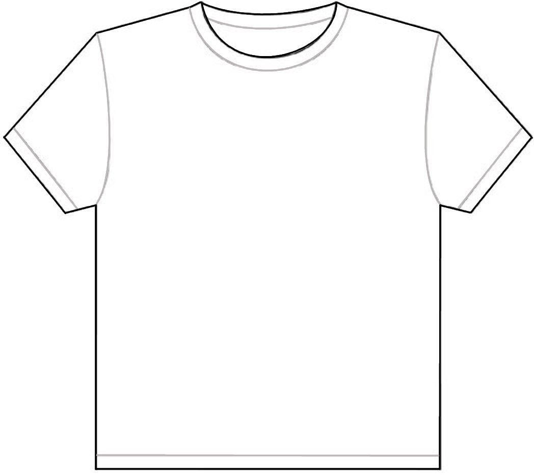 T Shirt Blank Shirt Clipart Kid