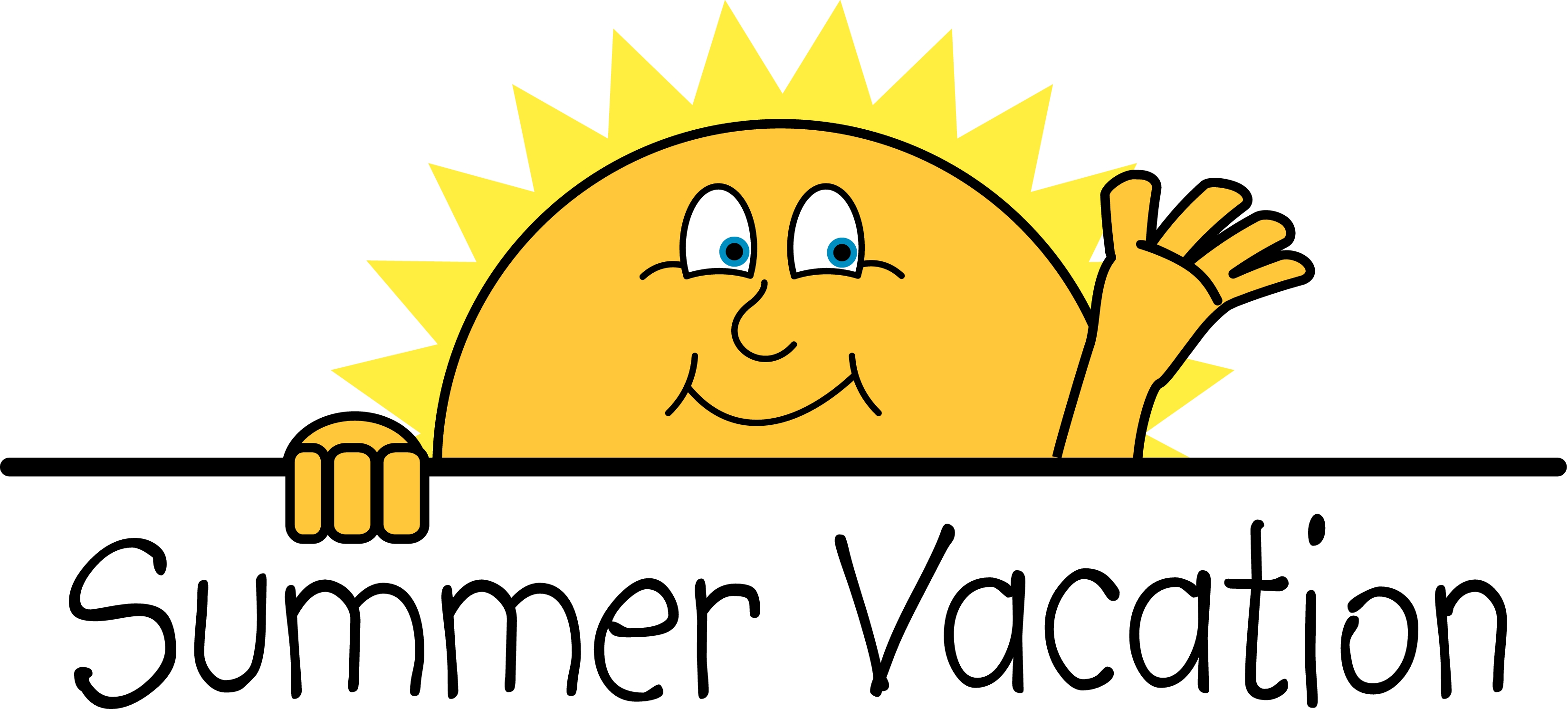 Happy summer vacation clipart clipartfest