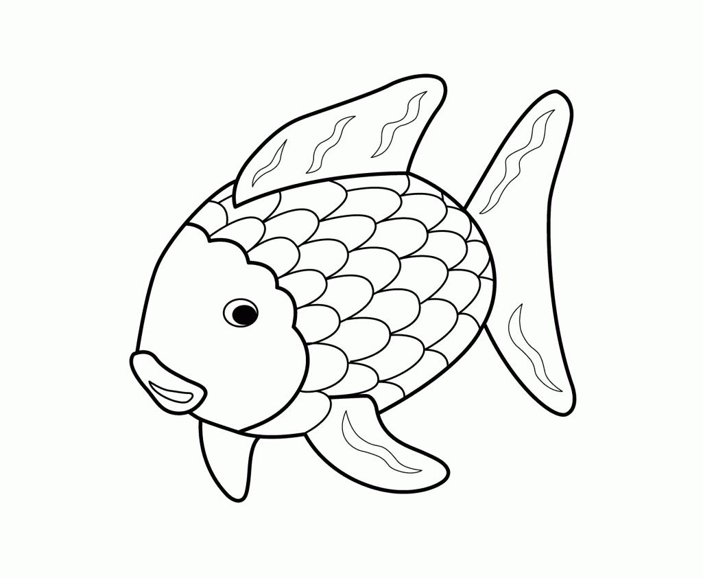 Fish Black And White Rainbow Fish Clipart Black And White