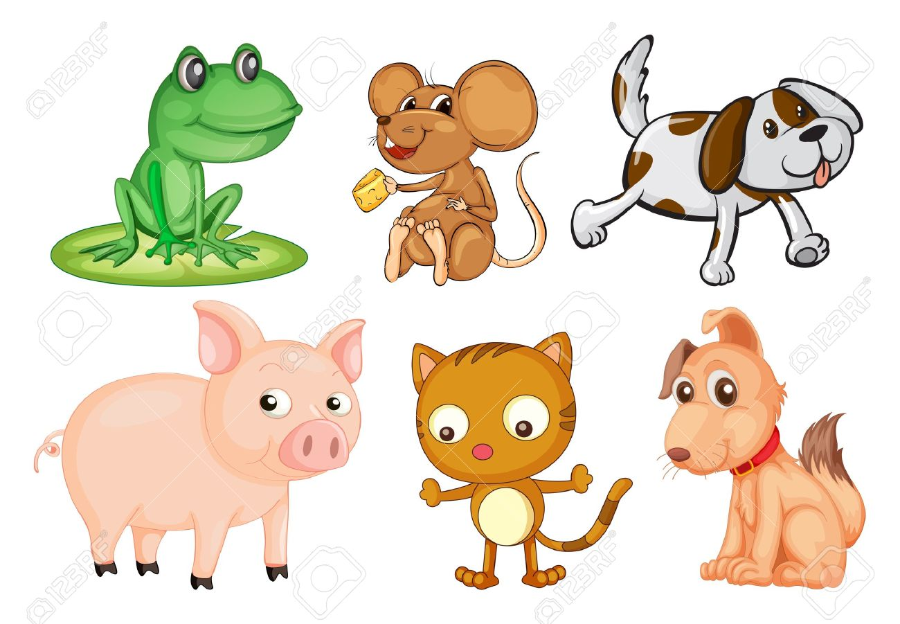 Land And Water Animals Clipart Clipartfest