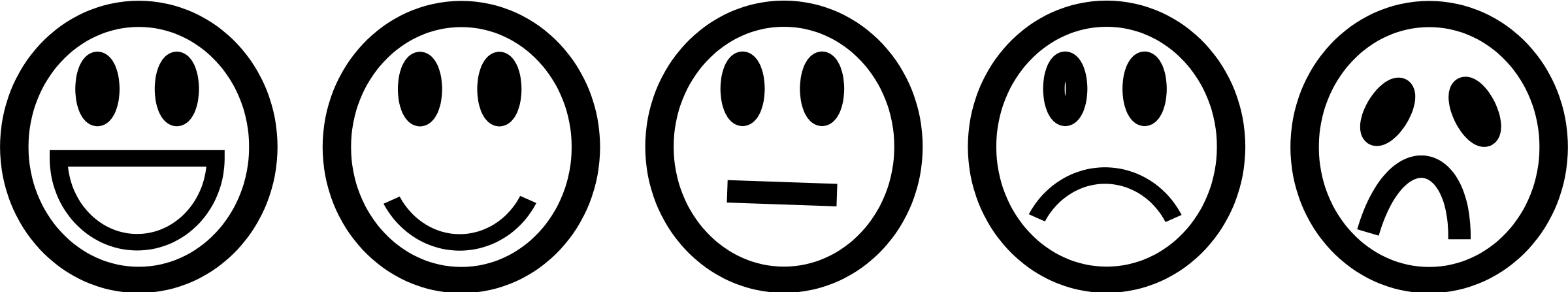 White And Happy Face Sad And Fair Black