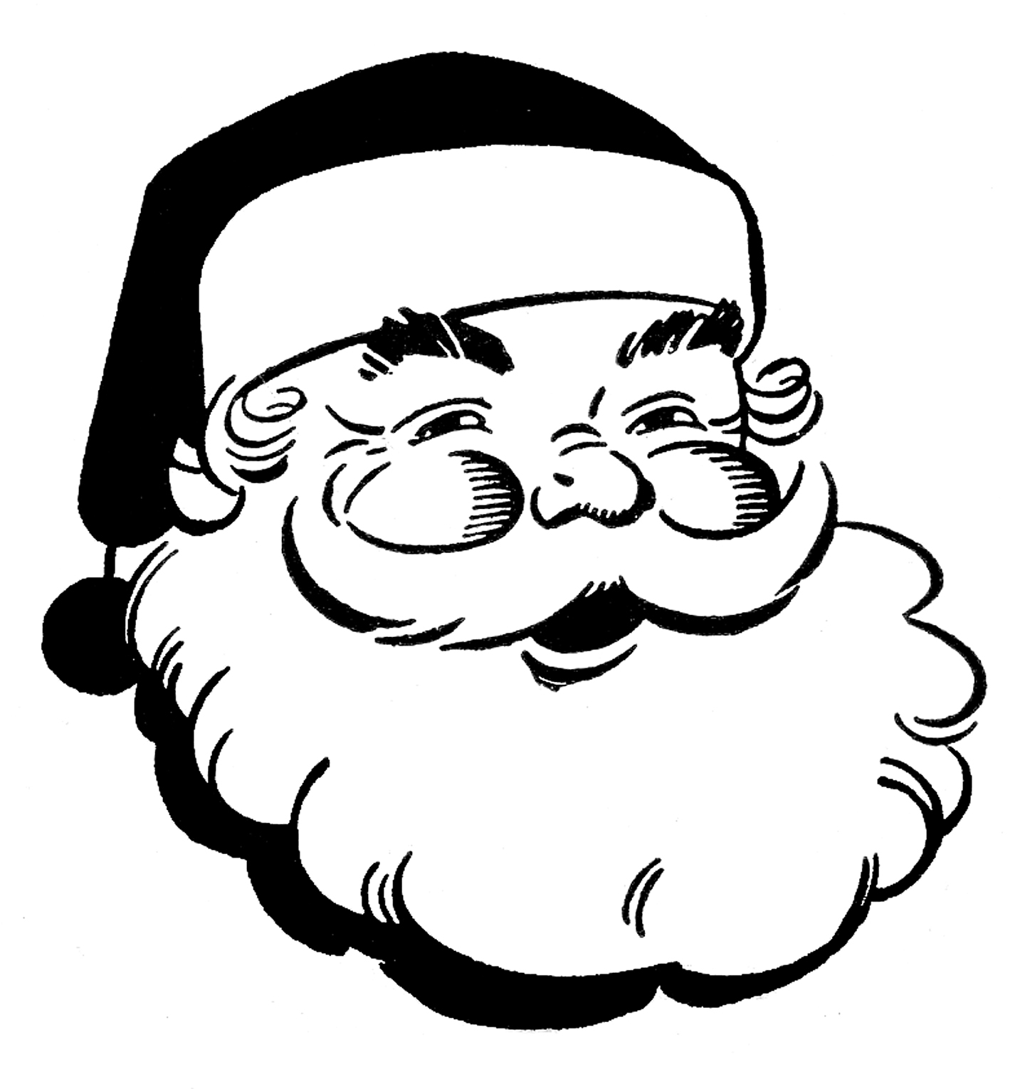 Best Christmas Clipart Black And White