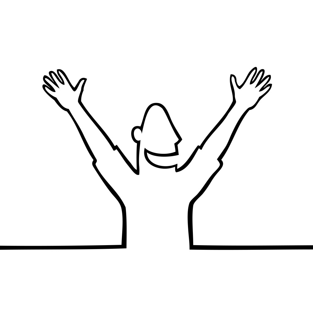 Best Happy Person Clipart