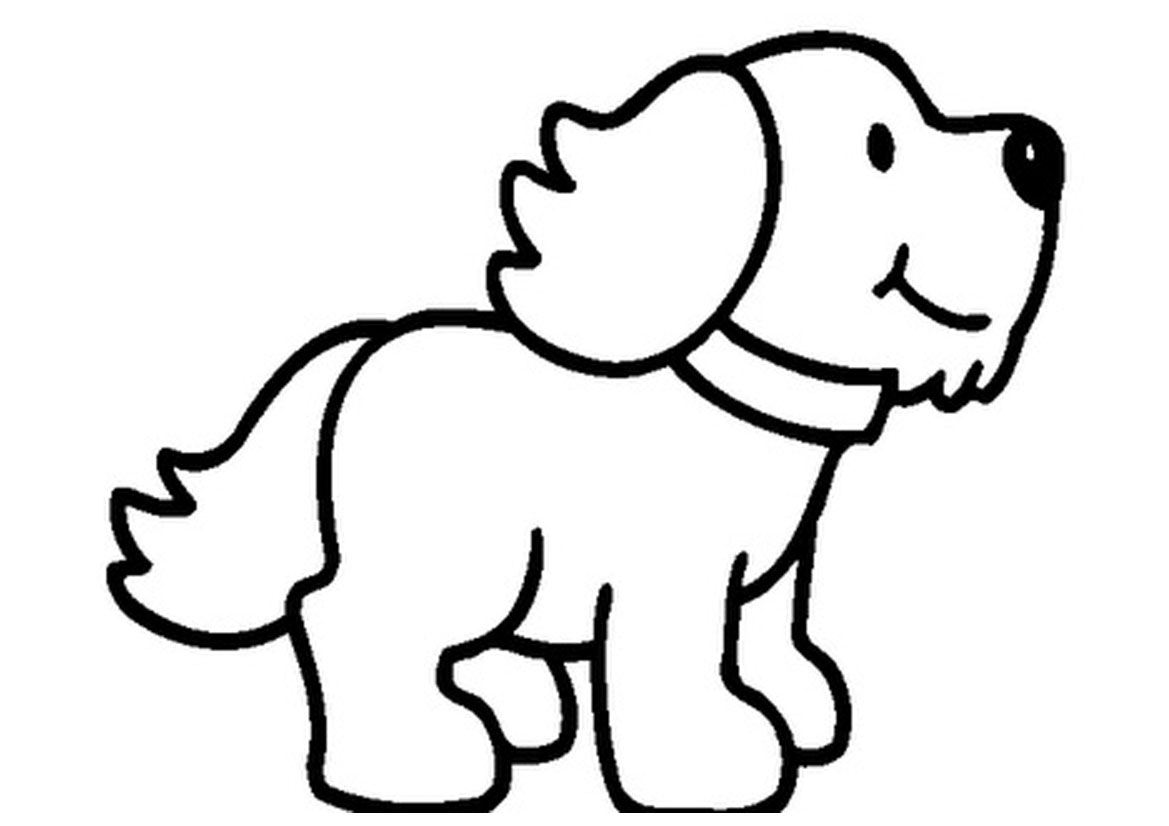 Best Puppy Clipart Black And White