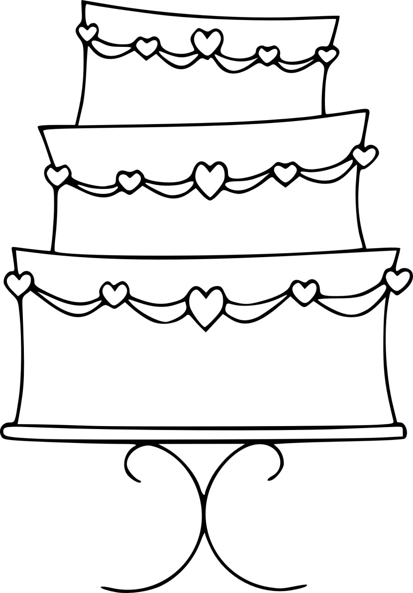 Clip Art Wedding Cake Clip Art wedding cake clipart cakes design photos simple clip artwedding gallery 830x1190