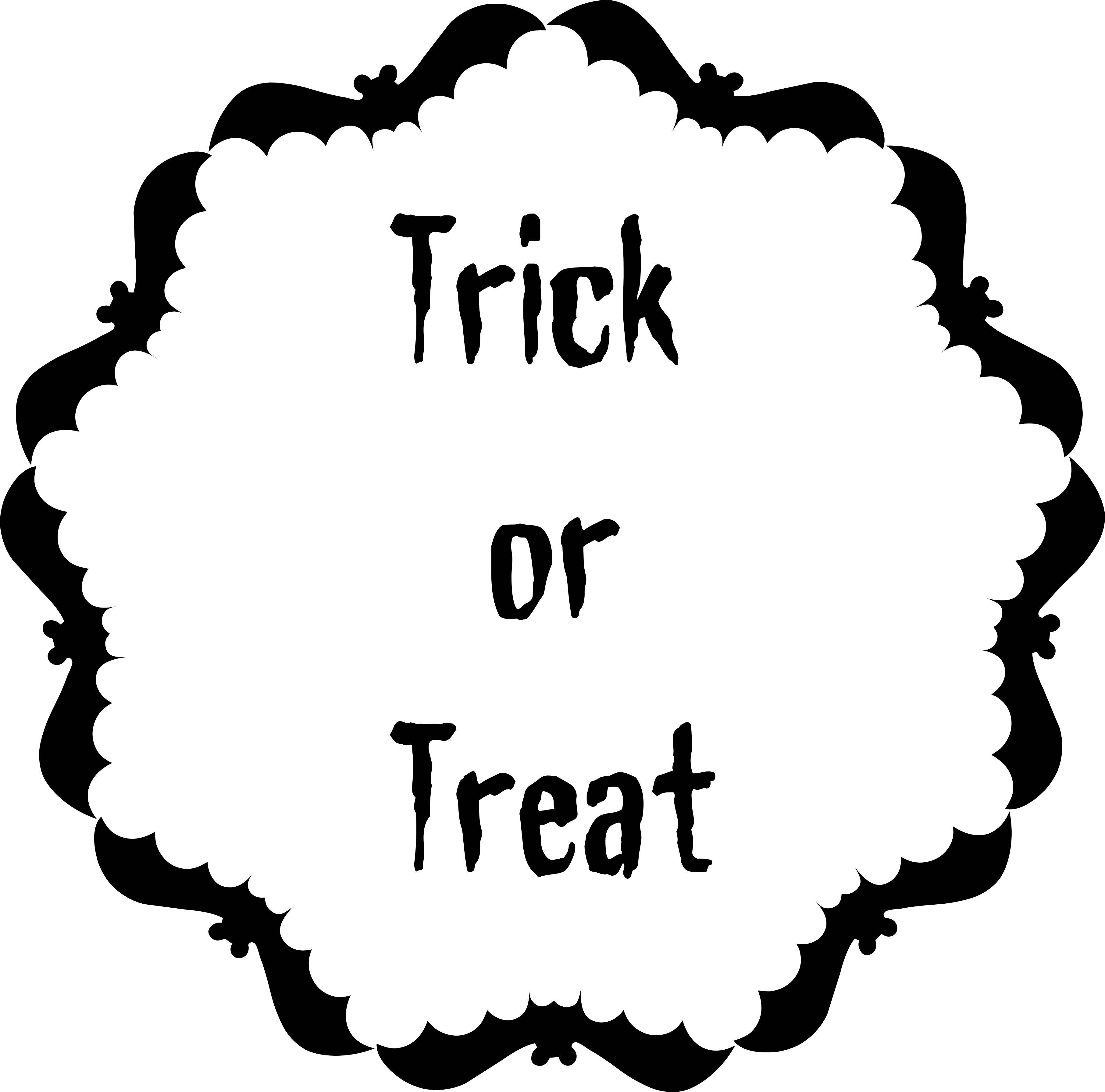 Best Trick Or Treat Clipart
