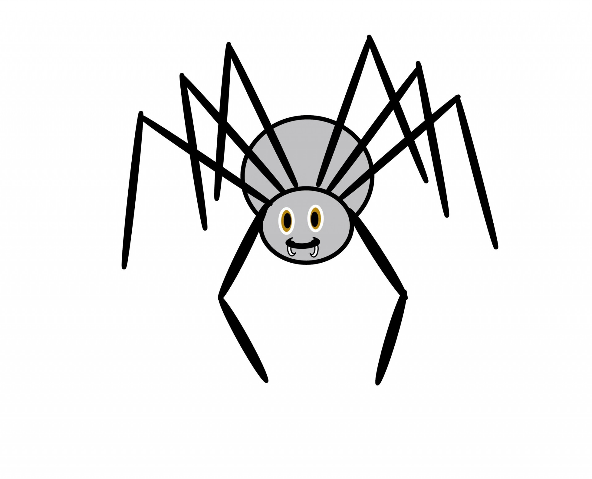 Halloween Hanging Spider Clipart Free Clipart Images