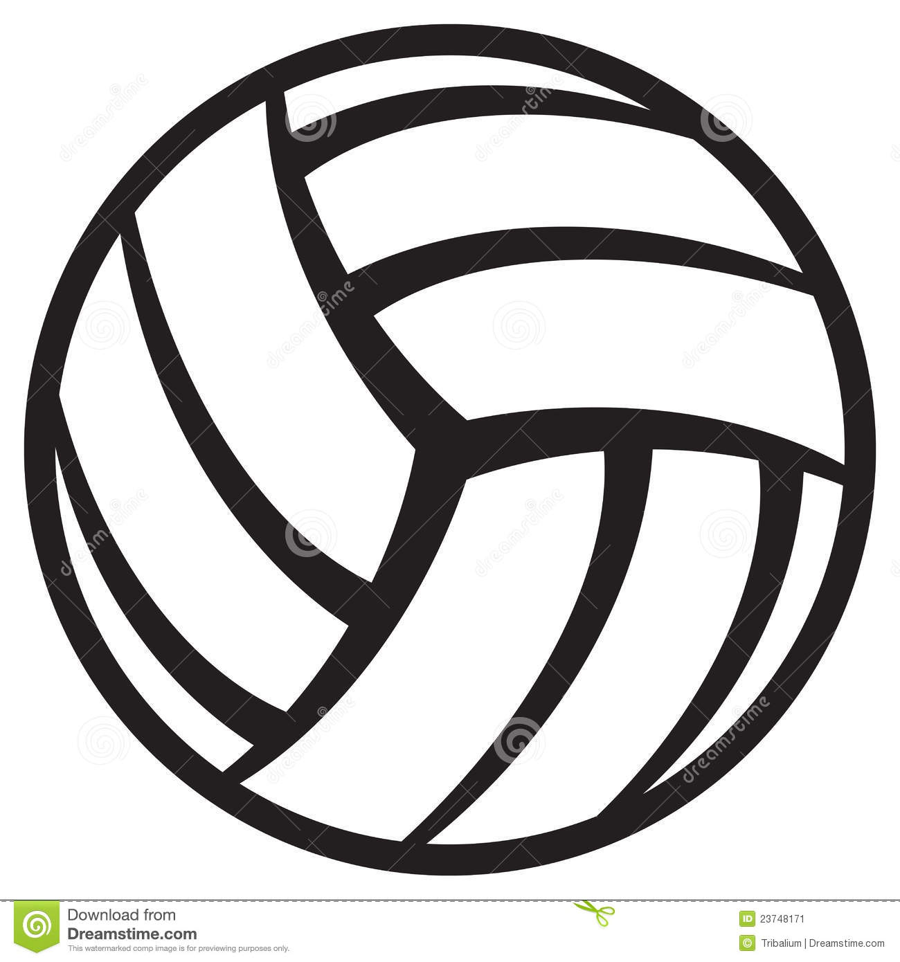 Free Volleyball Clip Art Pictures