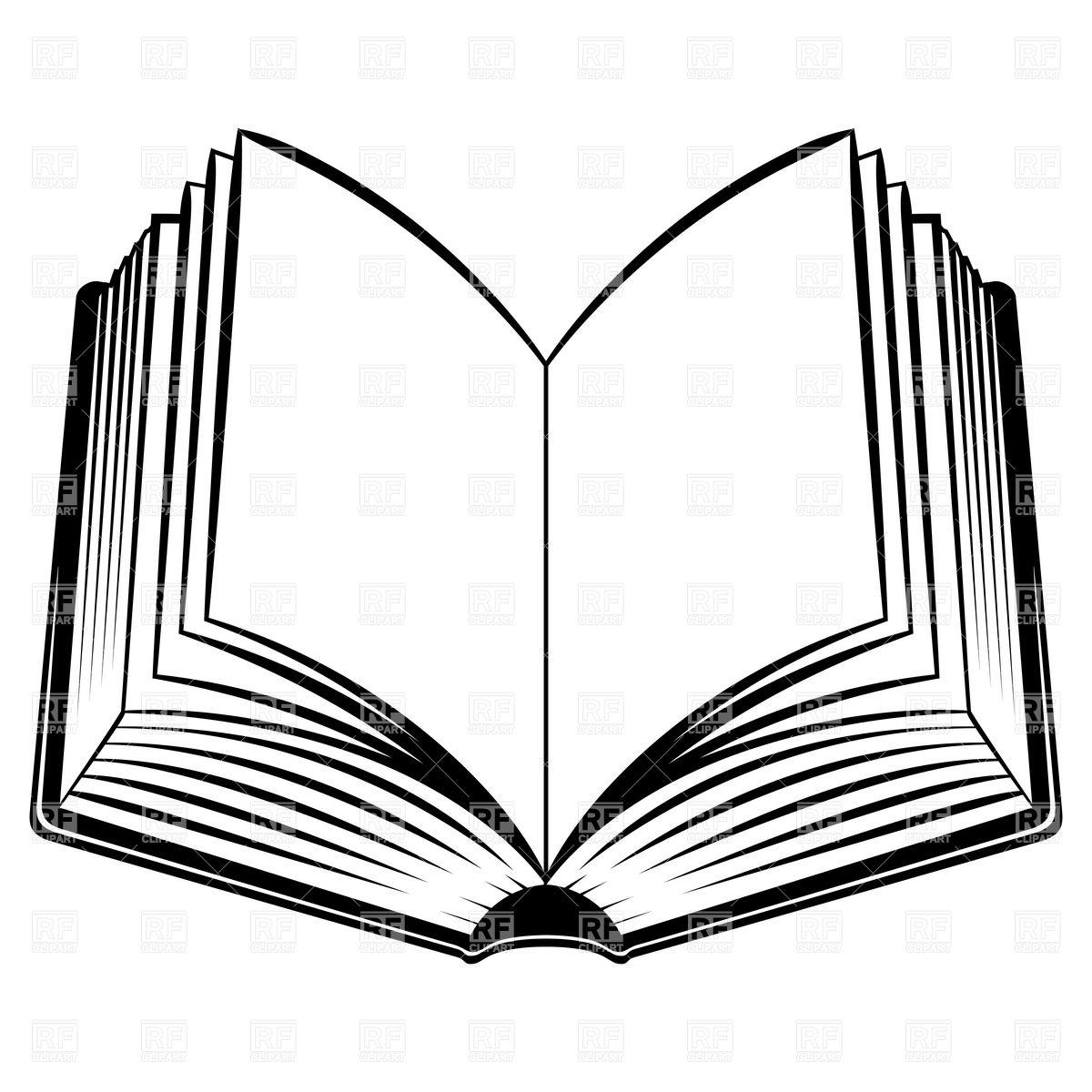 Open Book Openbook Art Clipart