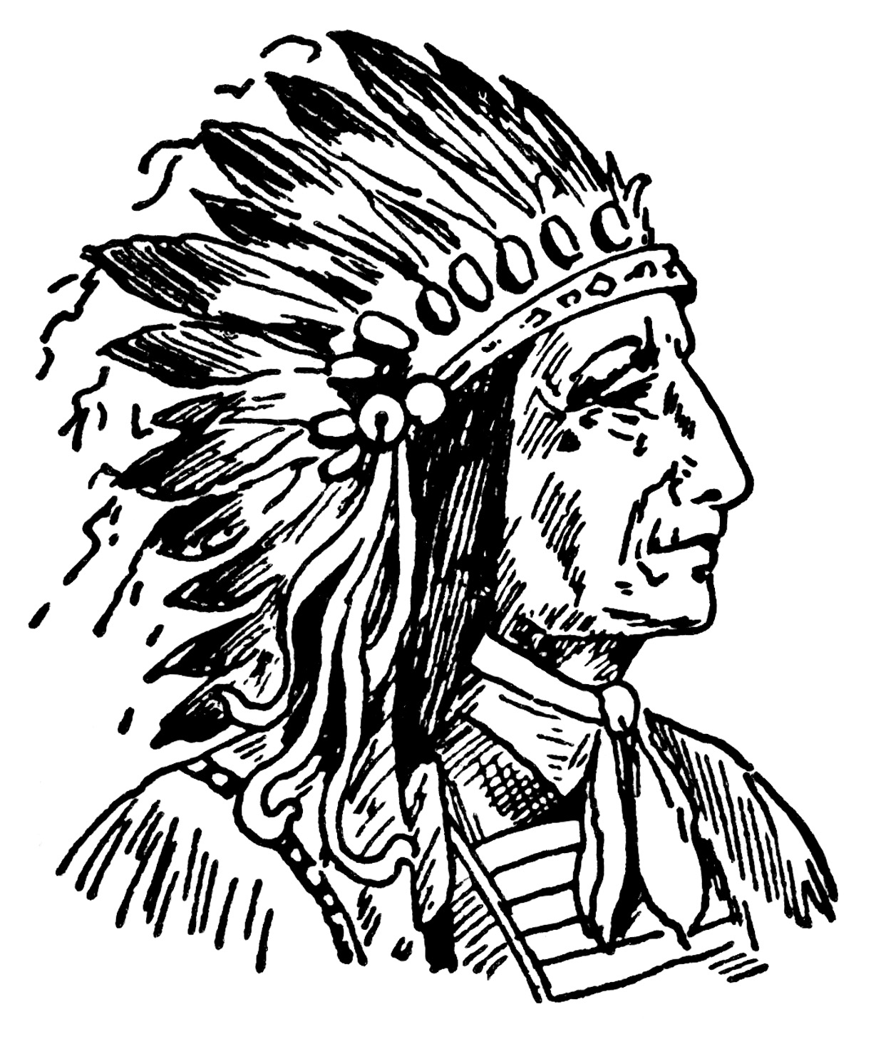 Free Native American Indian Clipart Clip Art Pictures