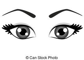 Pretty Eyes Clipart