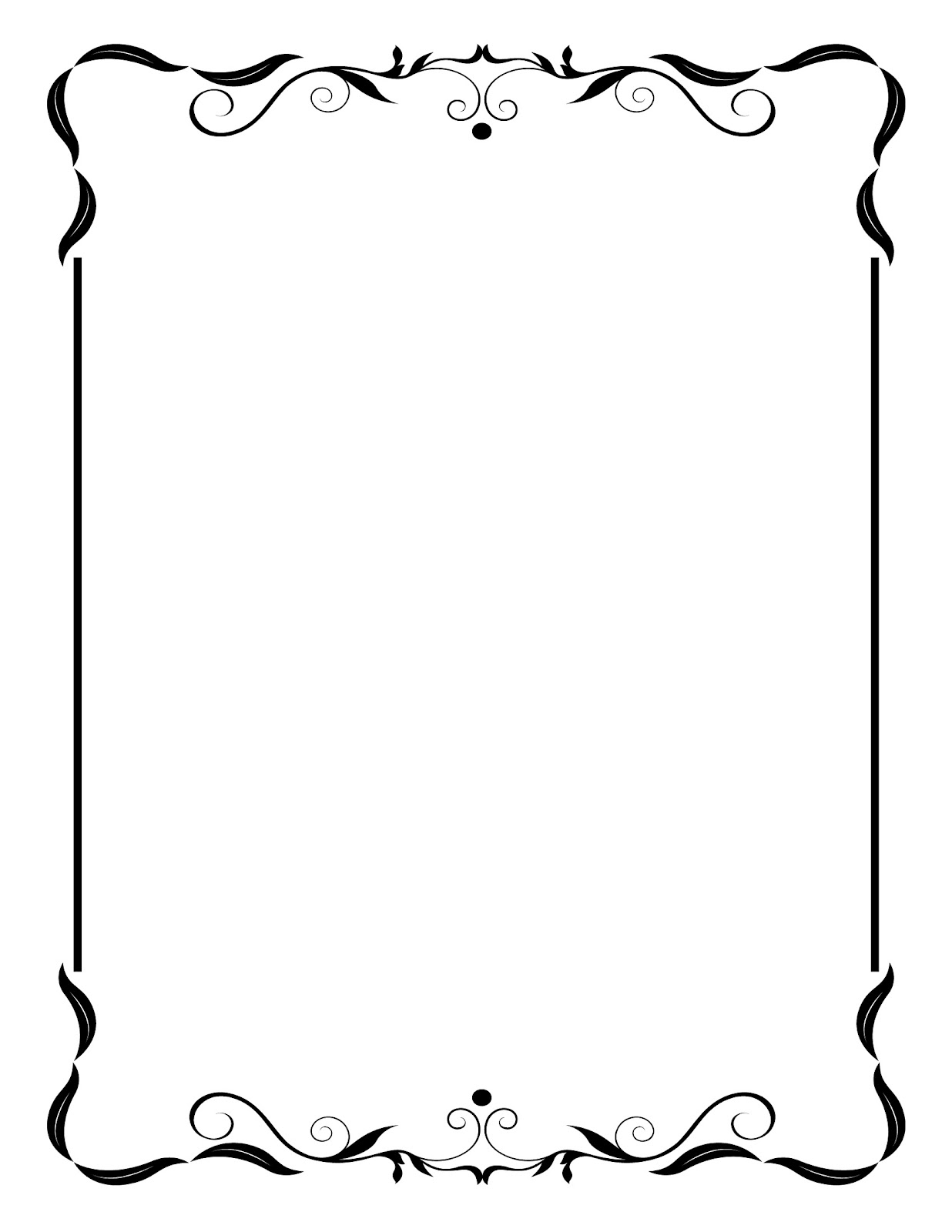 Border Free Frame Clip Art Teaching Clip Art Free Frames