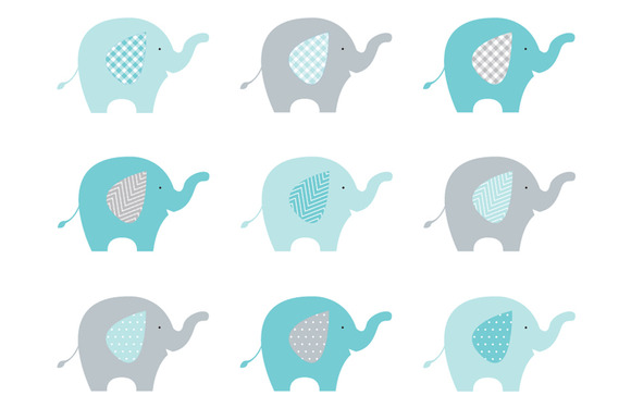 Baby Elephant Elephant Clipart Baby Shower 2 Clipartix