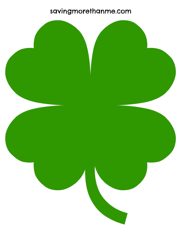 Free 4 Leaf Clover Clip Art Pictures