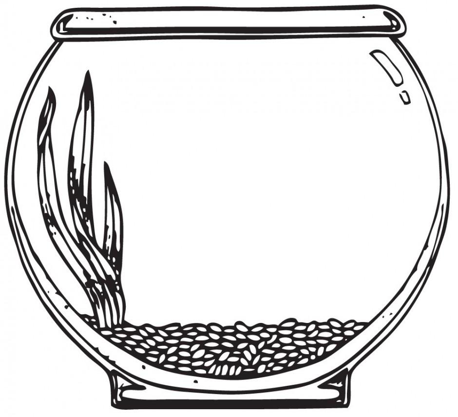 Fish bowl outline clipart clipartfest no - Clipartix (940 x 856 Pixel)