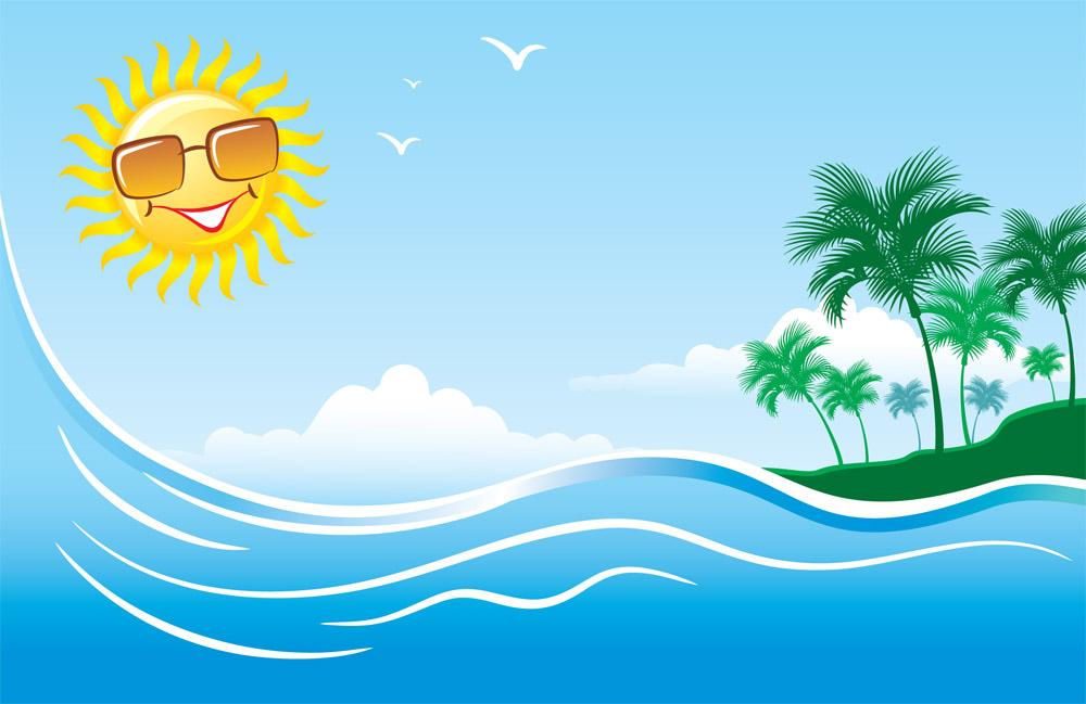 Free Summer Clip Art Pictures - Clipartix (1000 x 649 Pixel)