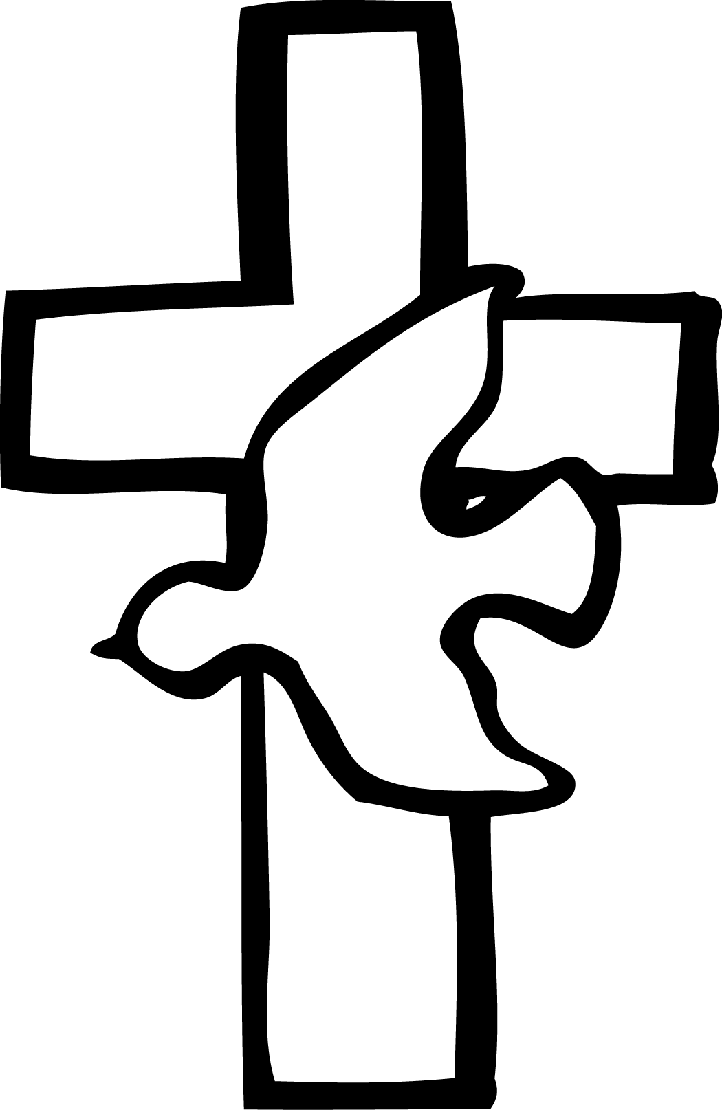Cross Clipart Black And White Free Images 3