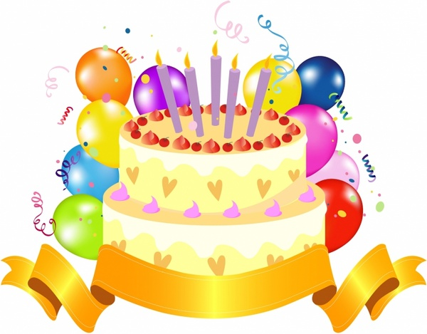 Happy Birthday Cake Clipart Free Vector Download 7 Free Clipartix