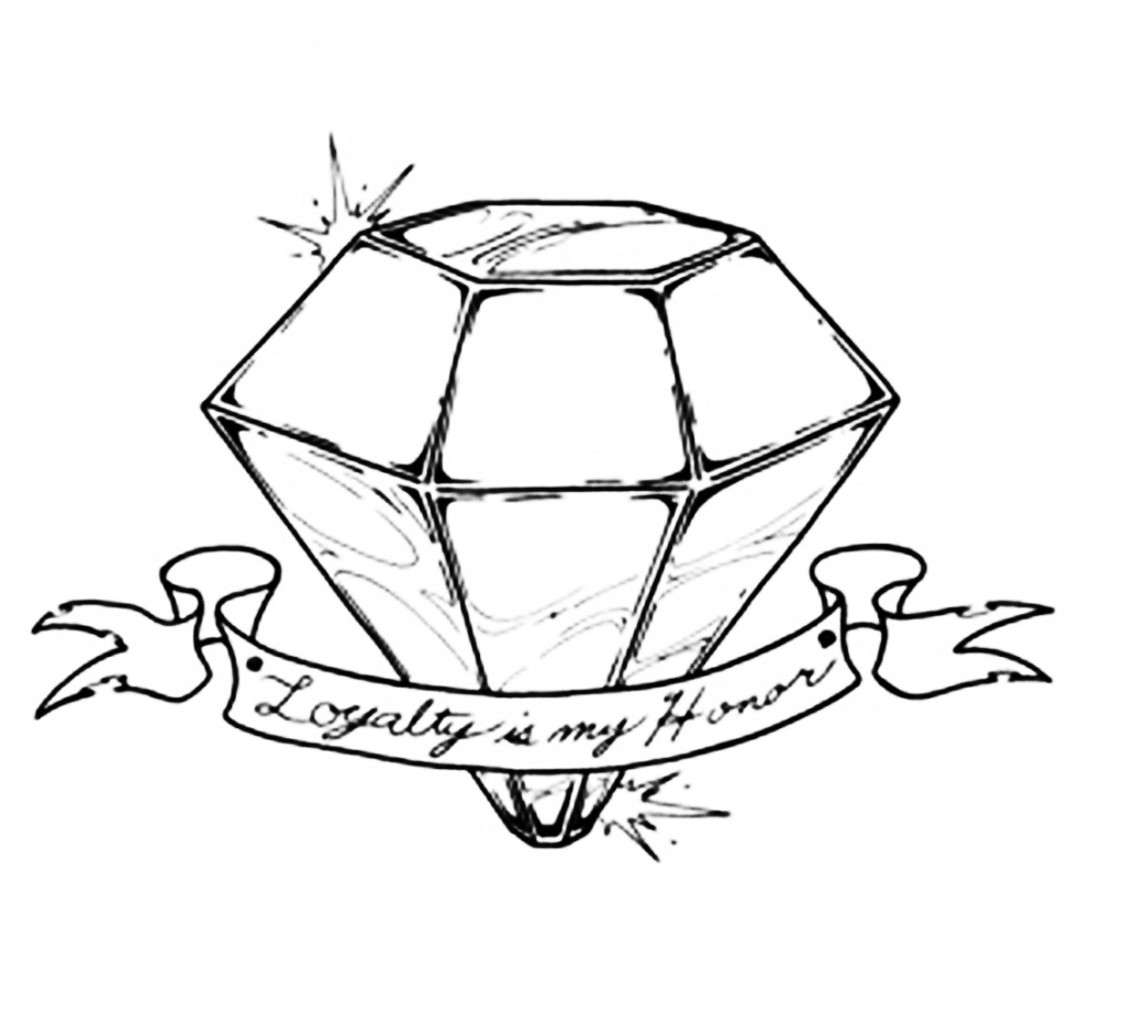 Diamond Drawing Diamond 3d Drawing Photo How To Draw A