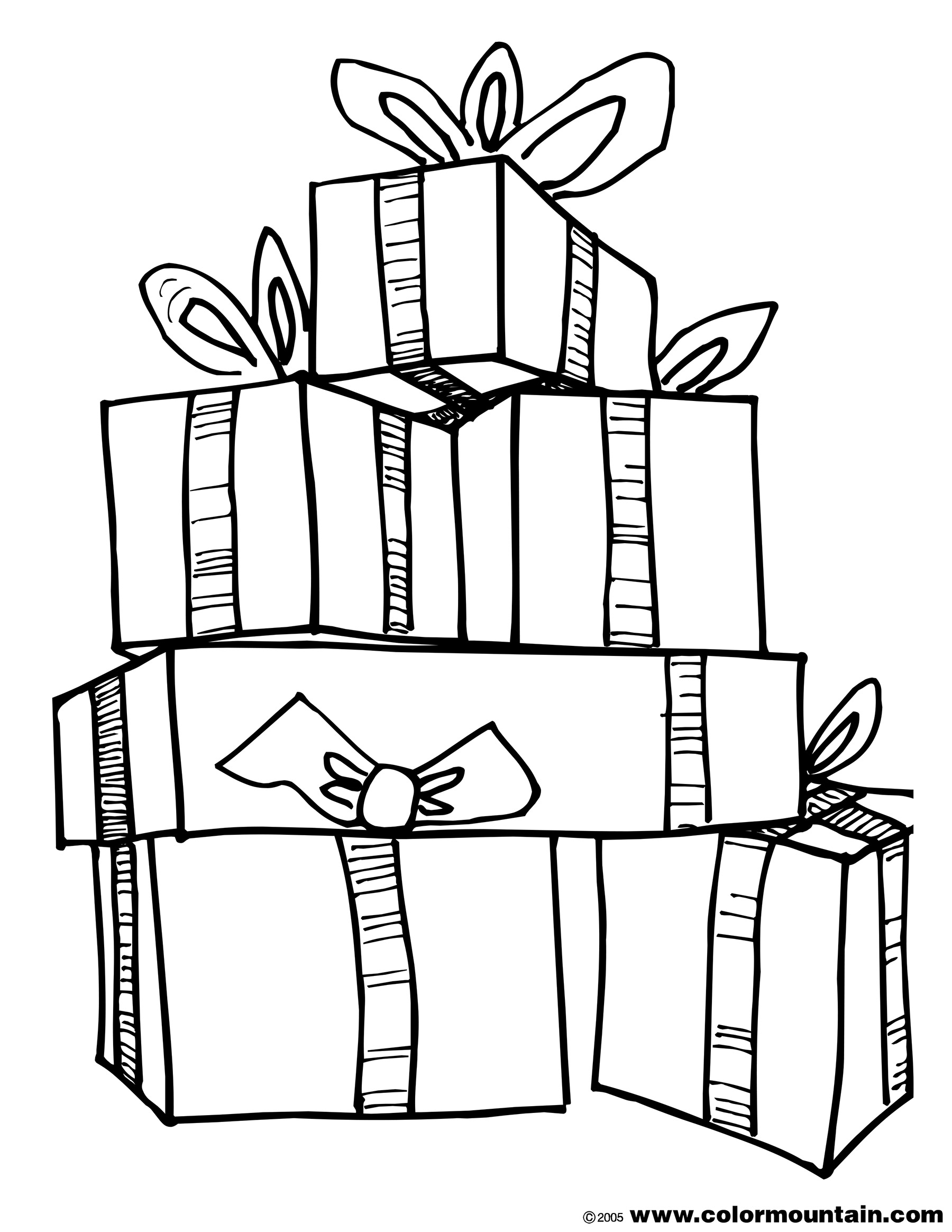 Present Outline Present Clipart Outline Free Download