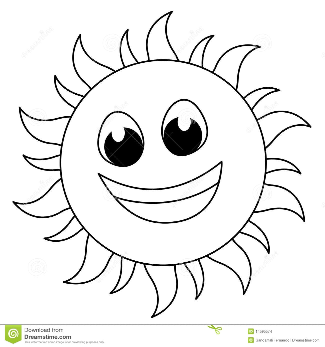 Sun Clipart Black And White Free Images