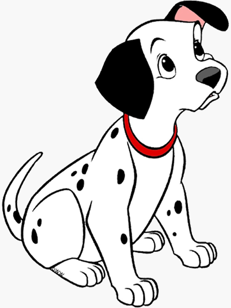 101 Dalmatians Drawing   Free download on ClipArtMag (750 x 1000 Pixel)