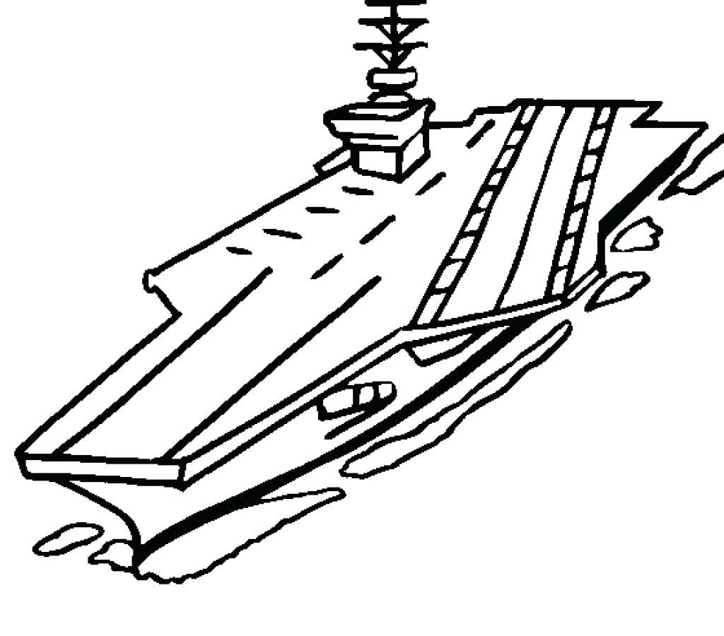 Aircraft Carrier Drawing
