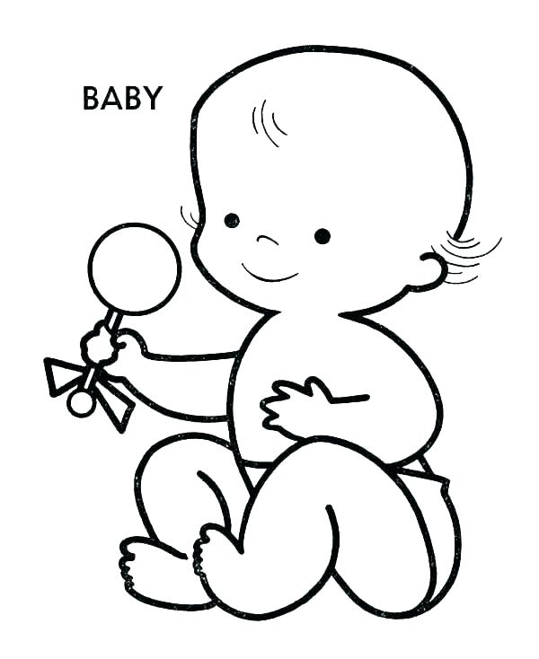 baby doll drawing  free download on clipartmag