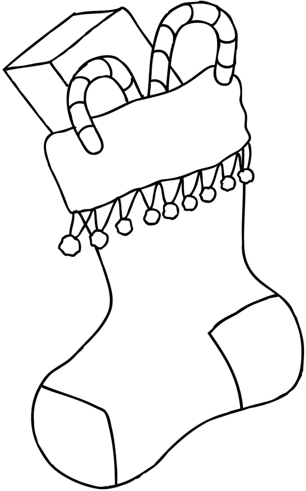 Christmas Socks Drawing