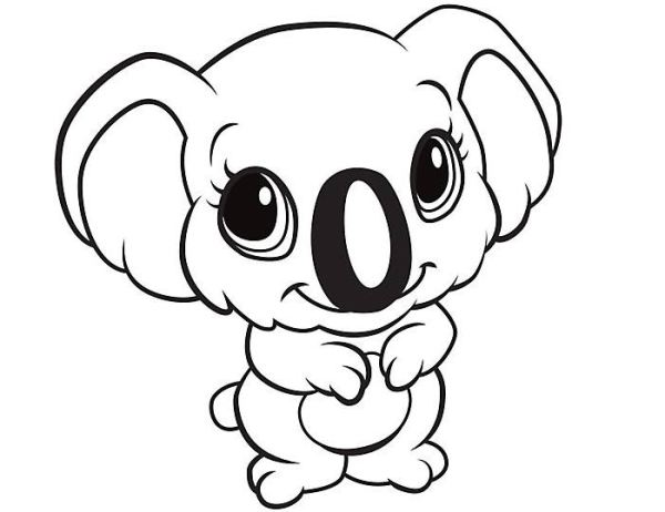 coloring pages cute animals # 14