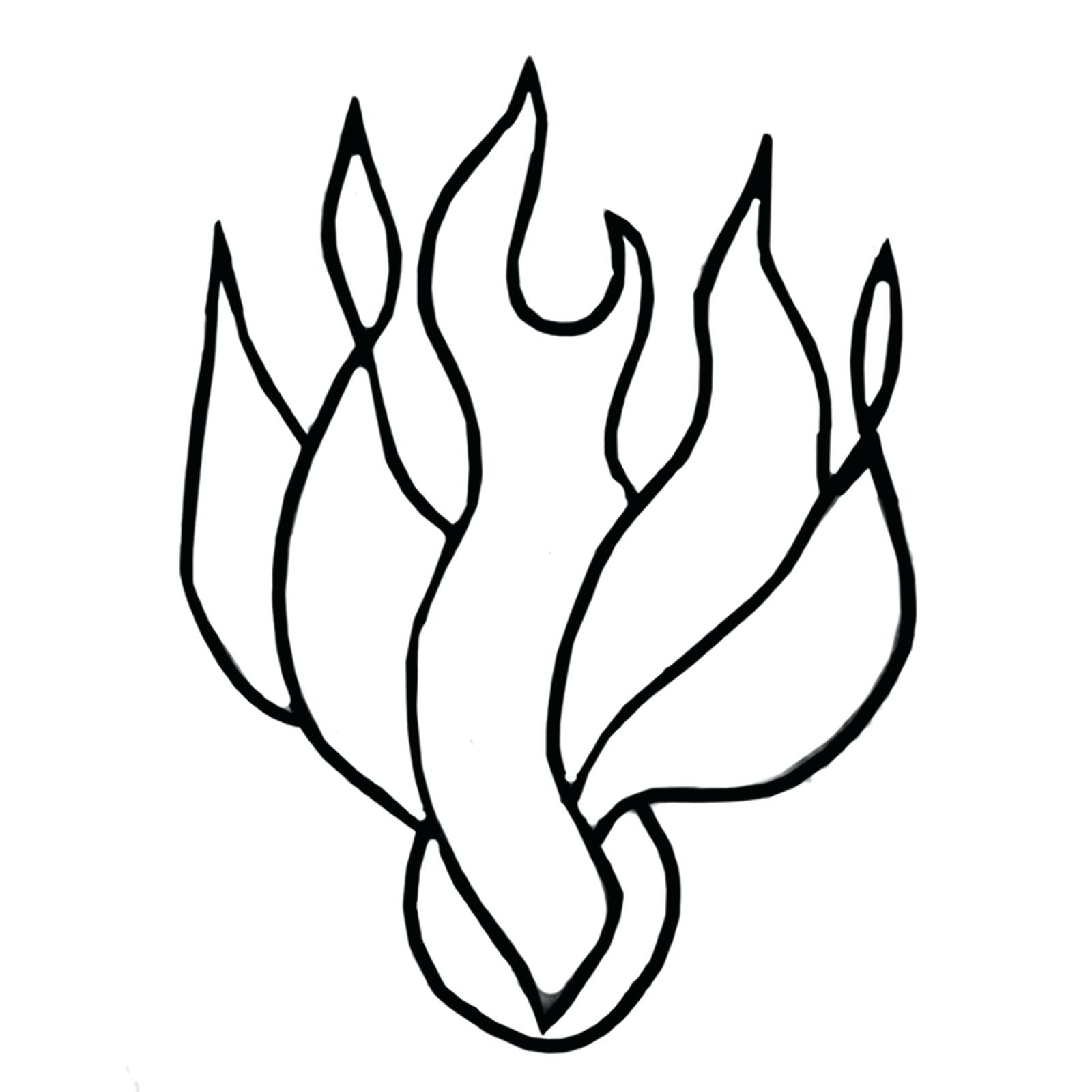 Fire Flames Drawing