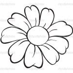 Flower Simple Flower Art Drawing
