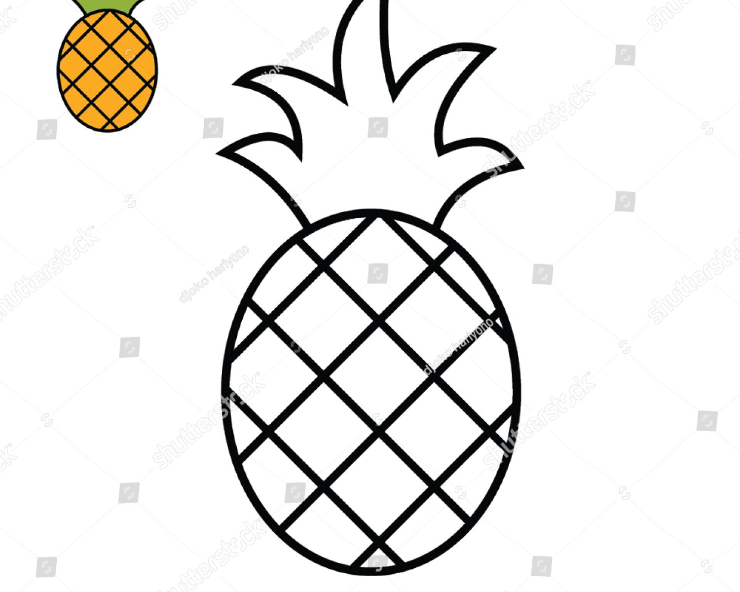 Fruits Drawing For Kids