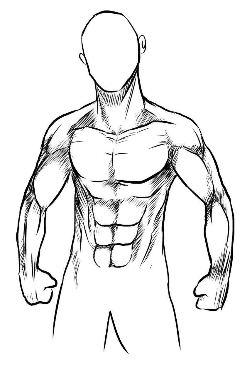 Human Body Drawing | Free download on ClipArtMag