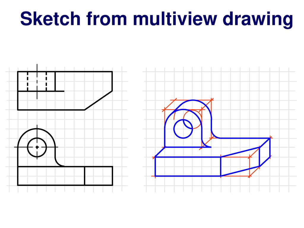 Isometric Pictorial Drawing