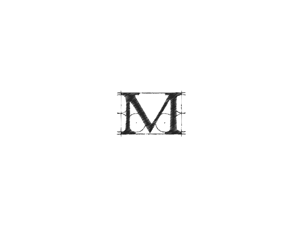 Letter M Drawing