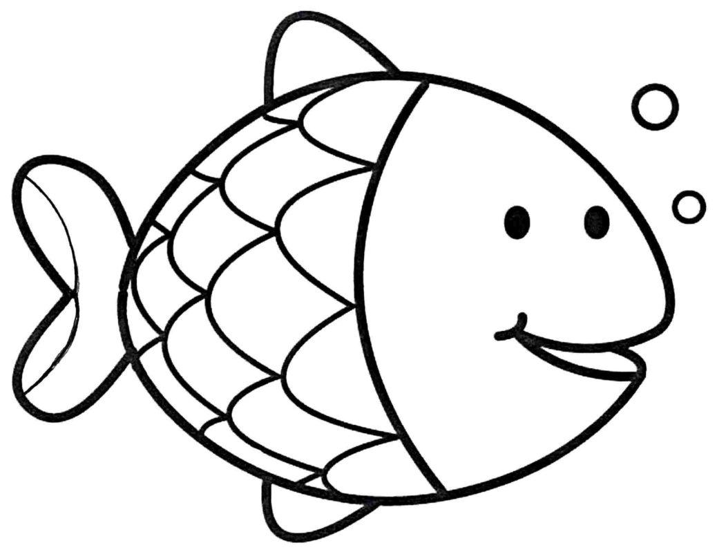 Ocean Fish Drawing