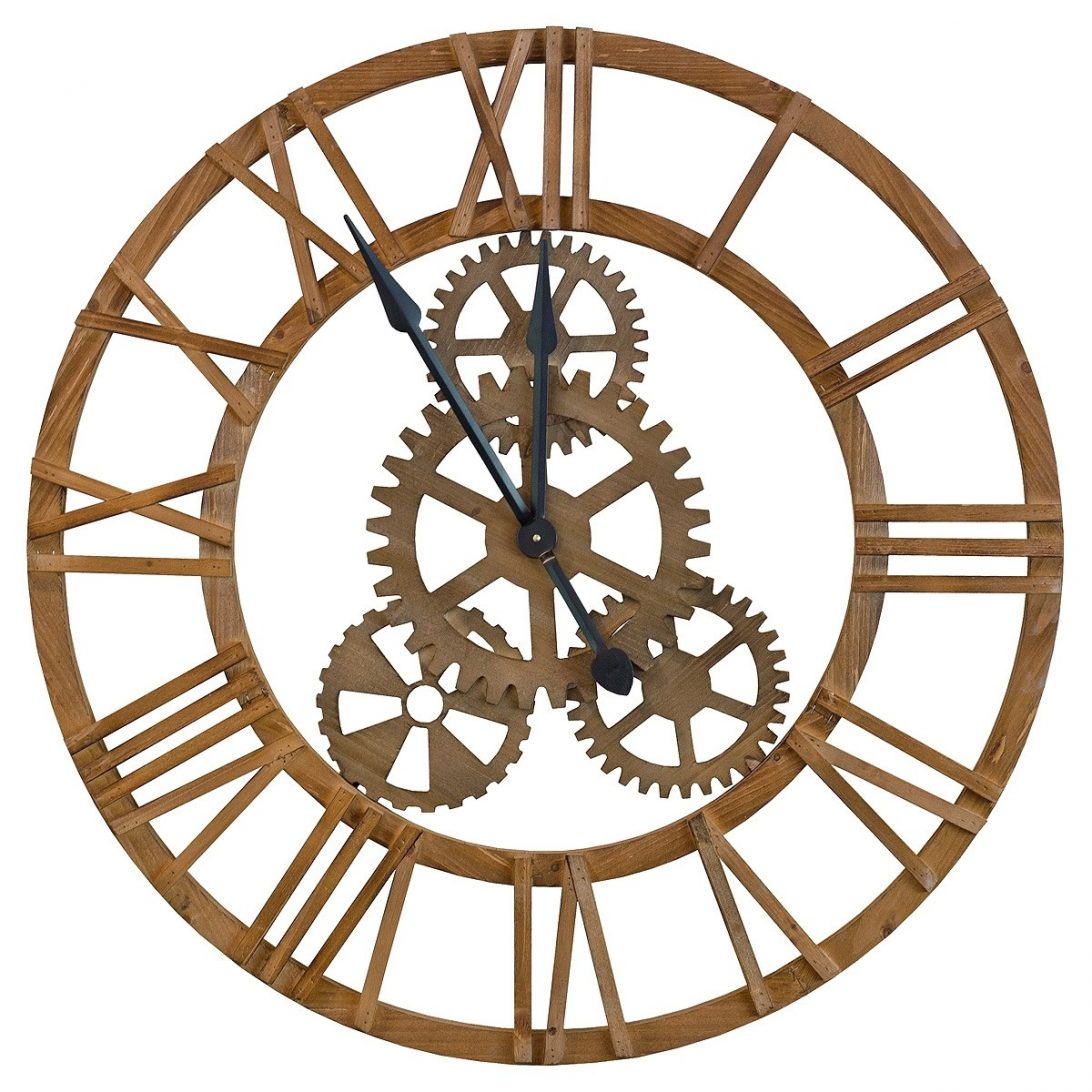 Roman Numeral Clock Drawing