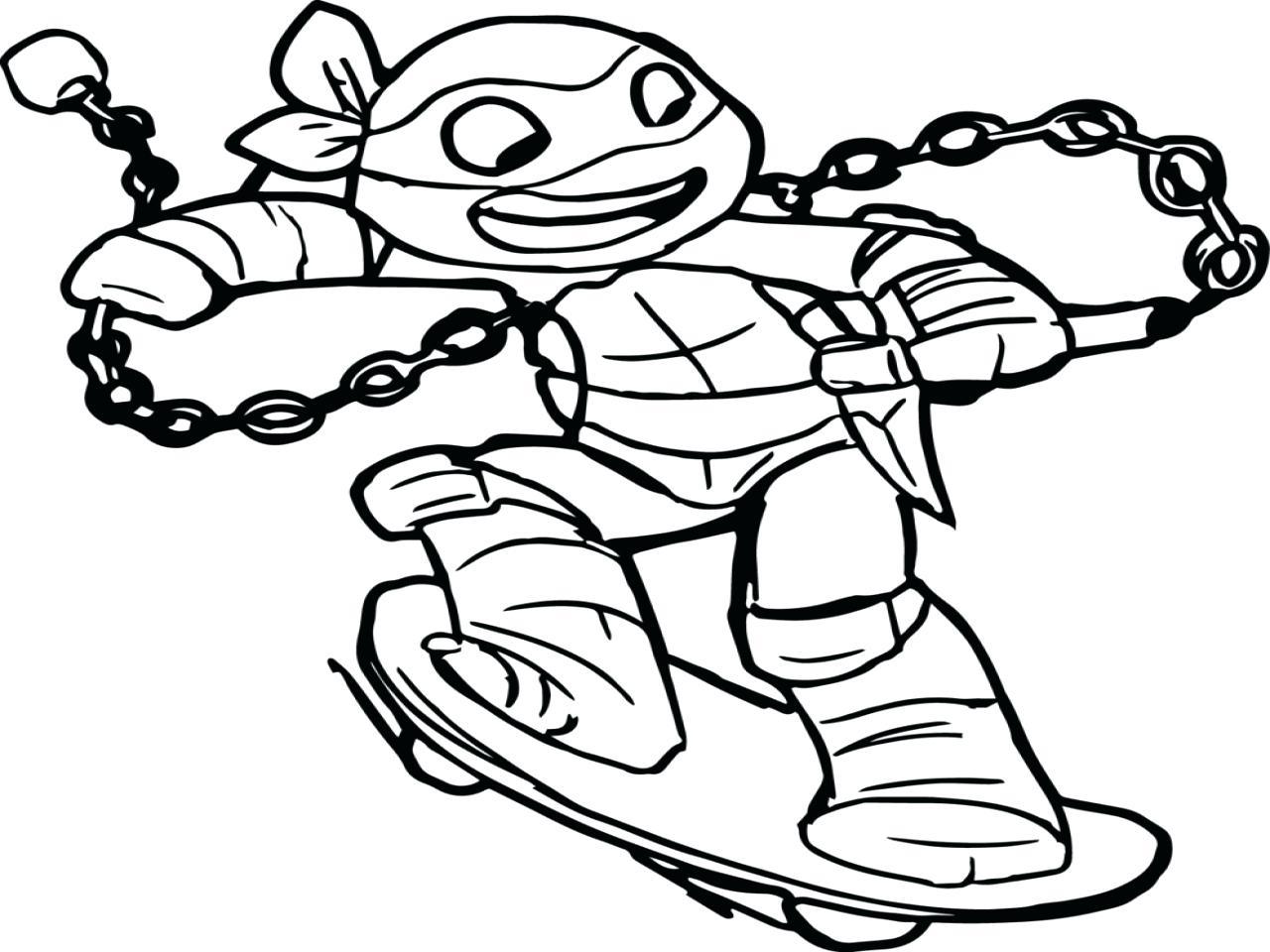Teenage Mutant Ninja Turtles Drawings