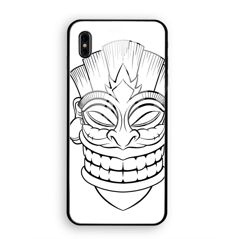 Tiki Mask Drawing