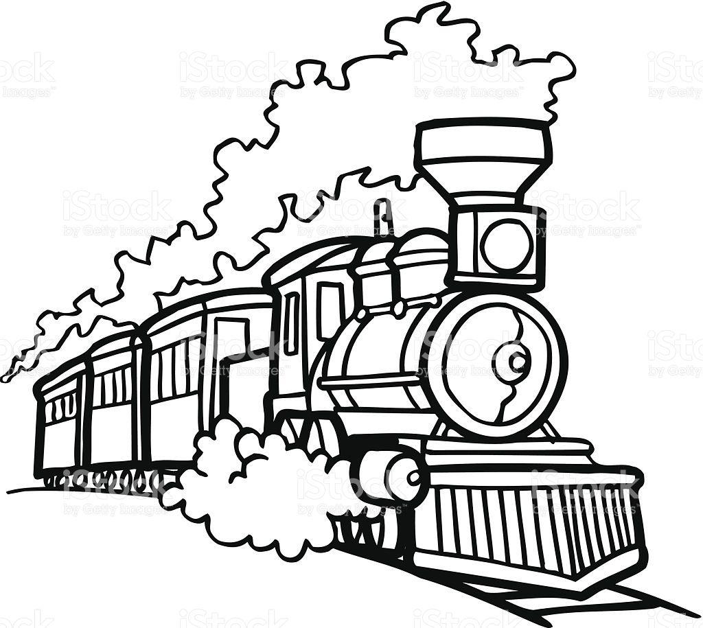 Train Car Drawing