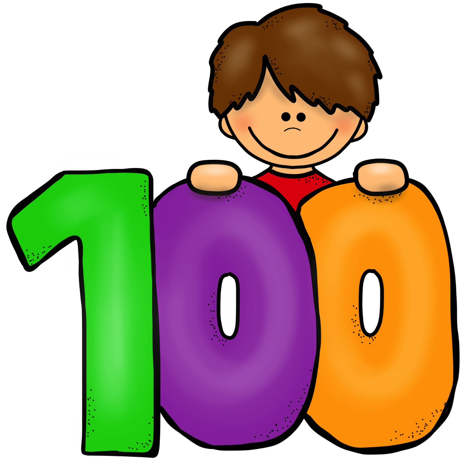 100 Days Clipart