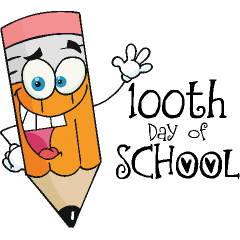 100th Day Of School Clipart   Free download on ClipArtMag (240 x 240 Pixel)
